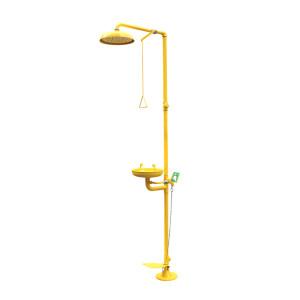 AEGLE/羿科 复合式洗眼器 60902206(ES2201A) 不锈钢喷塑 黄色 1台