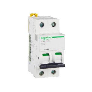 SCHNEIDER/施耐德电气 小型断路器 IC65L 2P C10A 1个