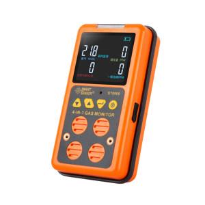 SMART SENSOR/希玛仪表 四合一气体检测仪 ST8900 测量气体:一氧化碳、硫化氢、氧气、可燃气体 不支持第三方检测/计量 1台