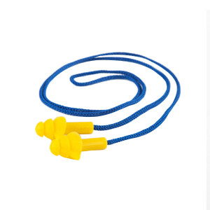 STRONG/思创 圣诞树型降噪耳塞 ST-1280 NRR:24dB 带线 黄色 1盒