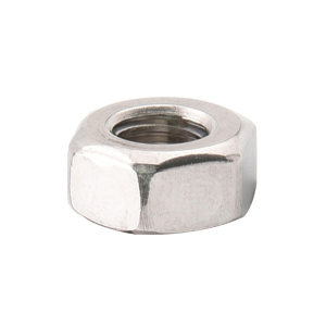 AOZ/奥展 DIN934 六角螺母 不锈钢304 A2-70 本色 211934004000000000 M4 粗牙 1个