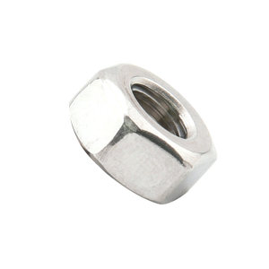 AOZ/奥展 DIN934 六角螺母 不锈钢304 A2-70 本色 211934012000000000 M12 粗牙 1个
