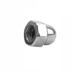 AOZ/奥展 DIN1587 六角盖形螺母 不锈钢304 A2-70 本色 211409008000000000 M8 1个