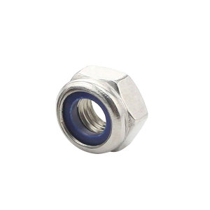 AOZ/奥展 DIN985 非金属(尼龙)六角锁紧薄螺母 不锈钢304 A2-70 本色 211512004000000000 M4 1个