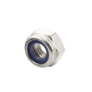 AOZ/奥展 DIN985 非金属(尼龙)六角锁紧薄螺母 不锈钢304 A2-70 本色 211512005000000000 M5 1个