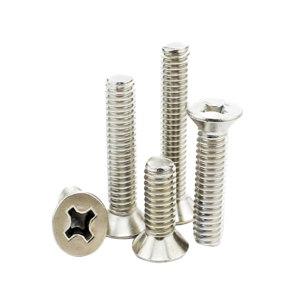 AOZ/奥展 GB819.2 十字槽沉头螺钉(H型) 不锈钢304 A2-50 本色 211222004004000000 M4×40 1个