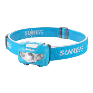 SUNREI/山力士 LED头灯(悦动) 悦动3/youdo3 白光 160lm 7档调光 蓝色 1块1800mhA聚合物锂电池 IPX5 USB数据线 1套