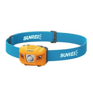 SUNREI/山力士 LED头灯(悦动) 悦动4/youdo4 白光 280lm 7档调光 橙色 3节7号电池 IPX6 1套