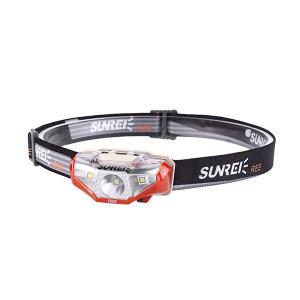 SUNREI/山力士 LED头灯(锐) 锐/Ree 134lm 白光 7档调光 棕红色 1节5号电池 IPX6 1套