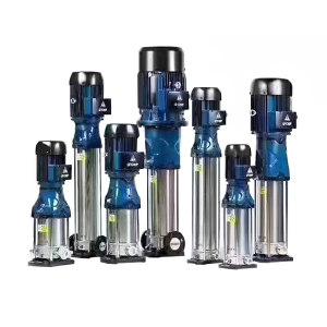 CNP/南方泵业 CDM系列不锈钢立式多级离心泵 CDM20-14 FSWPC 额定流量20m³/h 额定扬程168m 15kW AC380V 1台