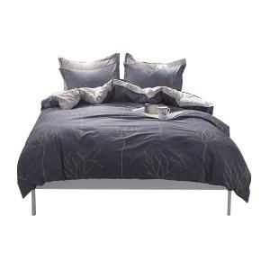 SHIDE/实德 纯棉双人四件套 2m床 被套200×230cm 床单230×250cm 枕套48×74cm×2 1套