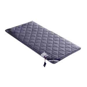 JZL/九州鹿 加厚舒适可折叠床垫 1.2米(1.2×2m) 1.2×2m 蓝色 聚酯纤维 可按需定制 1件