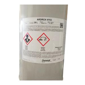 ARDROX 水洗型荧光渗透液 9703 等级2 中级灵敏度 25L 1桶