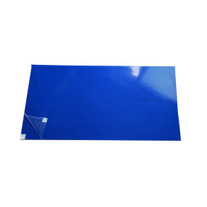 SAFEWARE/安赛瑞 洁净室粘尘垫(300片装) 12221 45*90cm 蓝色 1包