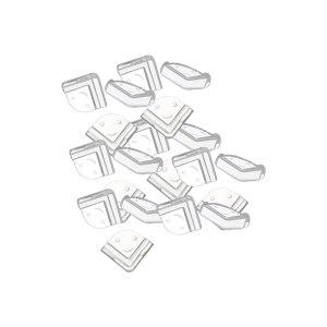 SAFEWARE/安赛瑞 L型透明防撞护角 12242 PVC 透明 1包