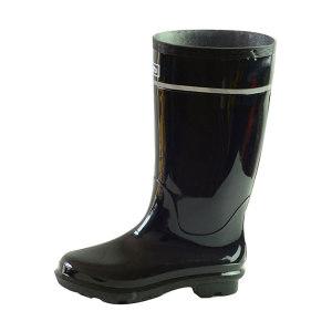 HUILI/回力 男款黑色高筒雨靴 818 41码 1双