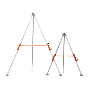 DELTA/代尔塔 铝制高强度救援三脚架 505025 高度2米 TRA22 1个