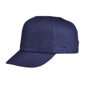 JSP/洁适比 运动安全帽 01-2004 小码 海军蓝 纯棉外帽 PE内壳 7cm帽檐 1顶