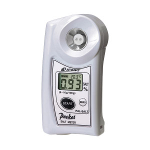 ATAGO/爱拓 迷你数显盐度计 PAL-SALT 盐浓度(g/100g):0.00~10.0%(自动温度补偿) 1台