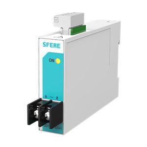 SFERE/斯菲尔 单相交流电流变送器 JD194-BS4I In:AC1A OUT:DC4~20mA 精度0.5级 1台