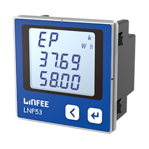 LINFEE/领菲 多功能电能表 LNF53 AC380V 5A-三相四线 1台