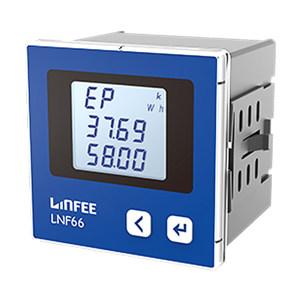 LINFEE/领菲 电能计量 脉冲输出电能表 LNF66 AC100V 1A-三相三线 1台