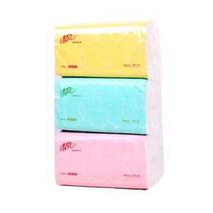 BREEZE/清风 抽取式面巾纸 BR38AC 双层 188×136mm 200抽×48包 无香 1箱