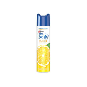 ALL JOY/爱家 空气清新喷雾 6911348431590 320mL 柠檬 1罐