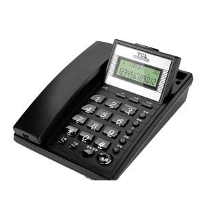 TCL 电话机 HCD868(37)TSD 黑色 1台