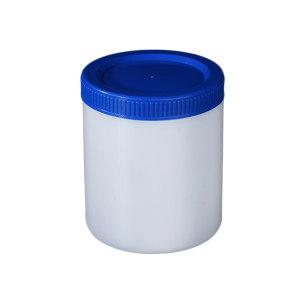 LEIGU/垒固 塑料直筒瓶蓝盖 S-001702 500mL 口径79mm 直径93mm 高度103mm 140个/箱 1个