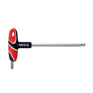 YATO/易尔拓 T型球头内六角扳手 YT-05593 8mm 1支