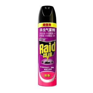 RAID/雷达 杀虫气雾剂超值装 6901586105056 600mL 清香型 1瓶
