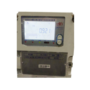 HUADU/华度 三相三线电子式多功能电能表 DSSD318 3X100V 3X1 .5(6)A 50HZ 1台