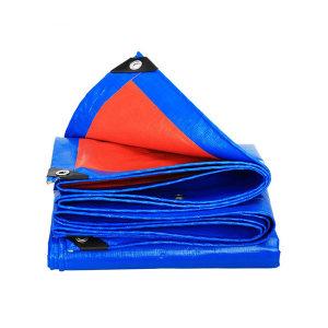 SAFEWARE/安赛瑞 加厚防雨布 12441 2*3m 蓝桔 PE 1张