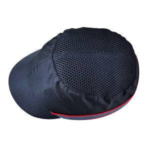 DELTA/代尔塔 COLTAN轻型防撞安全帽 102150 黑色(NO) PU涂层 PE帽壳 5cm帽檐 1顶