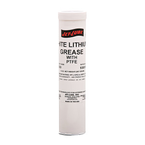 JET-LUBE White Lithium Grease 通用白色锂基脂PTFE 50350 14oz 1支