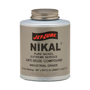 JET-LUBE Nikal 超高温防卡垫片复合膏 13604 16oz 1罐