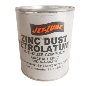 JET-LUBE Zinc Dust Petrolatum 铝及铝合金防卡剂 27003 16oz 1罐