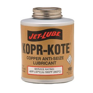 JET-LUBE Kopr-Kote 高温纯铜石墨防卡剂 10004 16oz 1罐