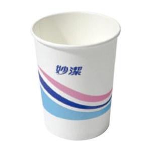 MIAOJIE/妙洁 纸杯一次性杯子 MDCB100 228mL 100只 1包