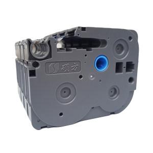 SUPVAN/硕方 标准覆膜标签带 L-131 透明底黑字 12mm宽 1卷