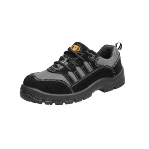 U-WORK/优工 保罗系列低帮绝缘安全鞋 PAD-P1712BK 36码 黑色 防砸绝缘 1双