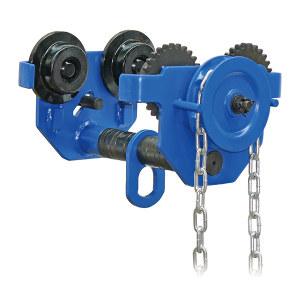 PLANETA/普兰尼特 GTM-0.5系列单轨手拉小车 GTM-0.5-025 额定载重0.5t 链条长度2.5m 工字钢宽度64~203mm 1件