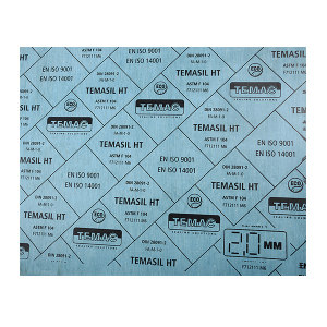 TEMAC/太美 无机纤维橡胶板 TEMASIL HT 1500×1500×1.0mm 板材公差±2% 厚度公差±10% 1张
