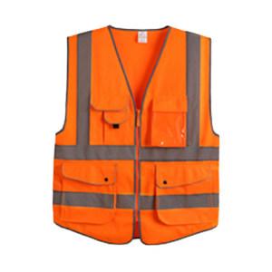 XINGHUA/星华 高亮达标款多彩反光背心 120150 S 荧光橙 1件