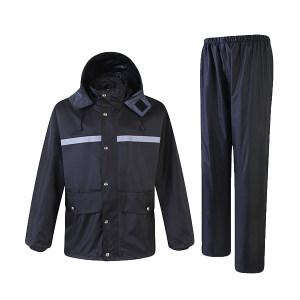 XINGHUA/星华 复合环保PVC反光雨衣套装 9004 2XL 藏青色 1件