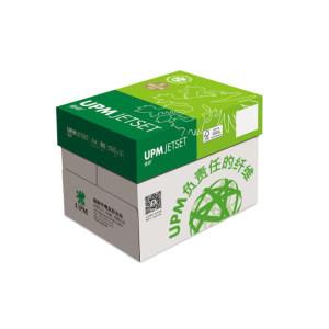 JIAYIN/佳印 UPM 复印纸 80gA4 5包(全木浆 高白) 1箱