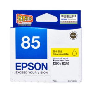 EPSON/爱普生 墨盒 T0854(T1224) 黄色 1盒