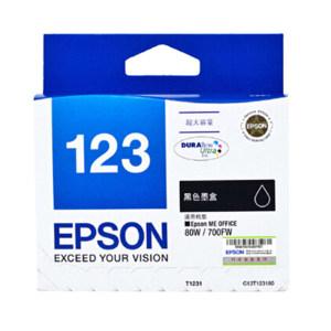 EPSON/爱普生 墨盒 T1231 黑色 1盒