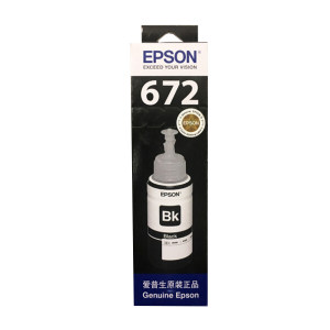EPSON/爱普生 墨水 T6721 黑色 1盒